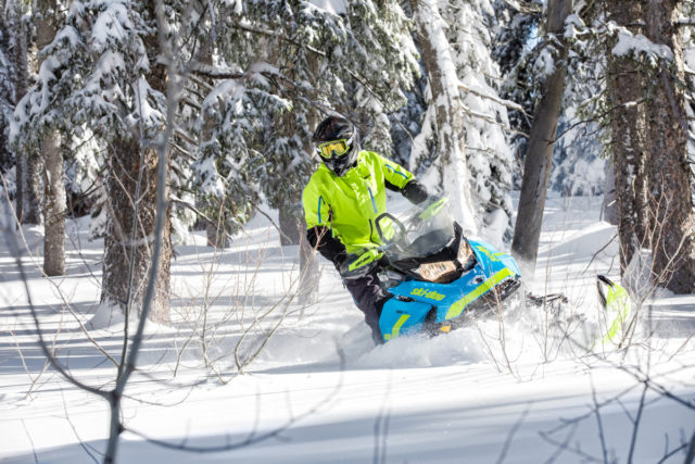 Модельный ряд снегоходов Ski-Doo 2018 года