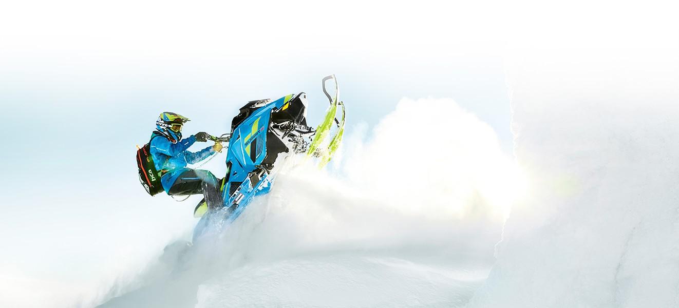 Легкие снегоходы BRP