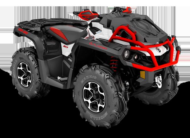 Квадроциклы BRP с 1000 см³ двигателем