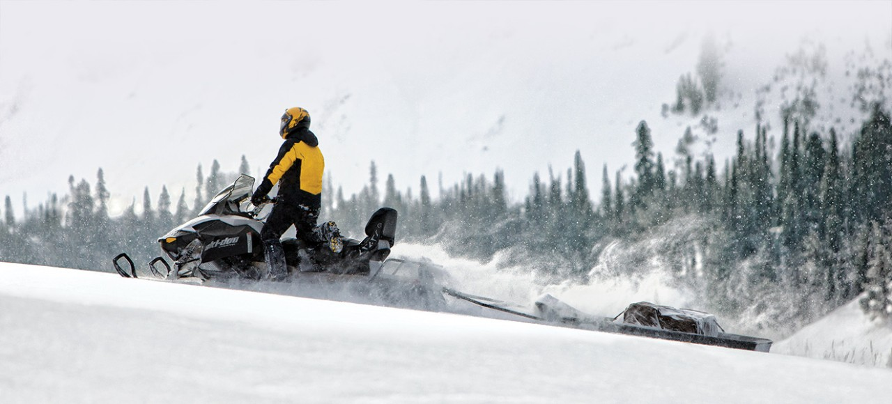 Мощные снегоходы BRP