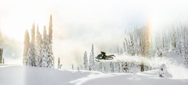 Одноместные снегоходы BRP