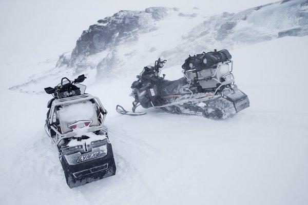 Трехместные снегоходы BRP
