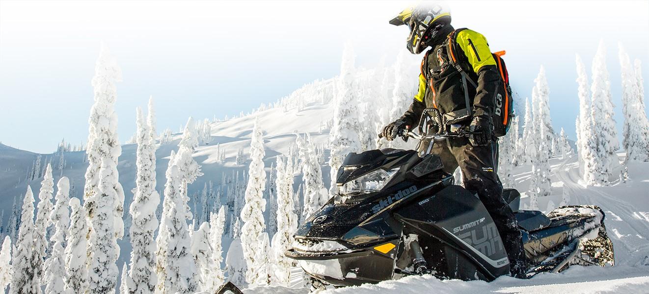 Снегоходы повышенной проходимости BRP