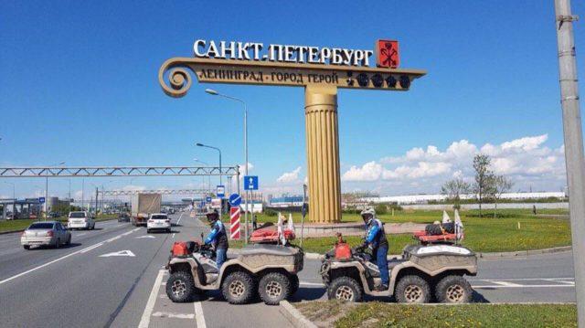 Два океана, шесть морей: встреча экспедиций в Москве, снегопад в начале июня и открытие фестиваля Spyder Grossglockner Challenge