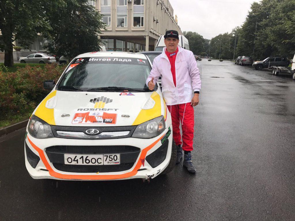 """Участники Can-Am X Race на ралли """"Санкт-Петербург 2017"""""""