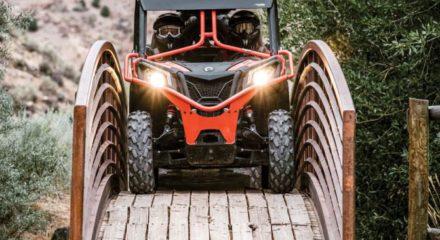 Обзор мотовездехода Can-Am Maverick Trail 2018 модельного года