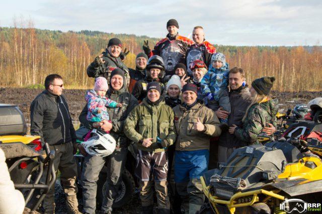В Петербурге состоялся BRP Weekend - закрытие квадро-сезона!