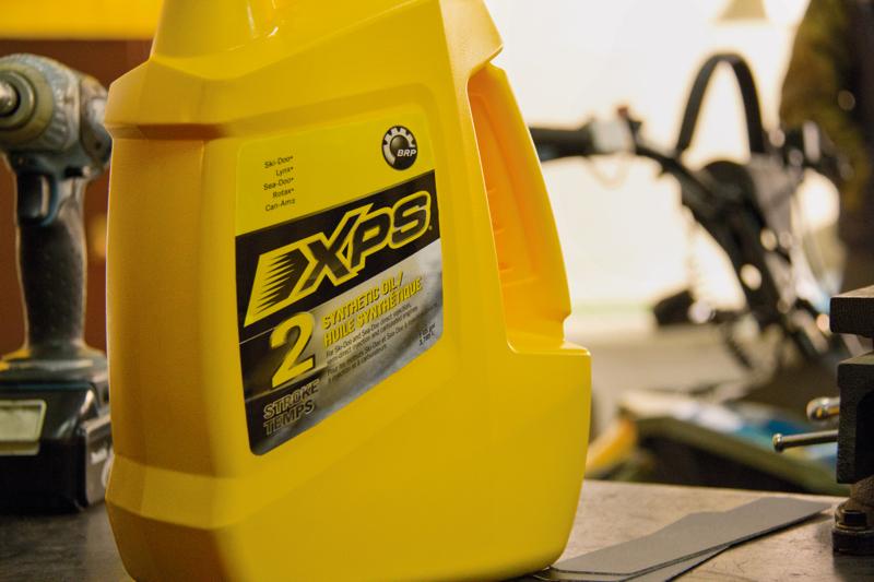 Оригинальное масло XPS только у официальных дилеров BRP.