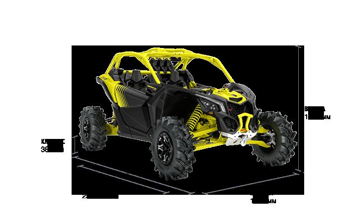 Can-Am Maverick X3 X MR Turbo R (2019 м.г.)