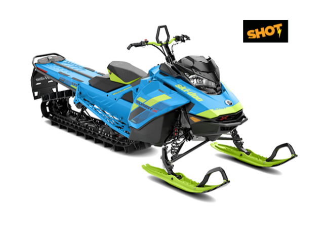 Первые снегоходы Ski-Doo Summit X 850 с сиcтемой SHOT и Freeride 850 ES уже в России!