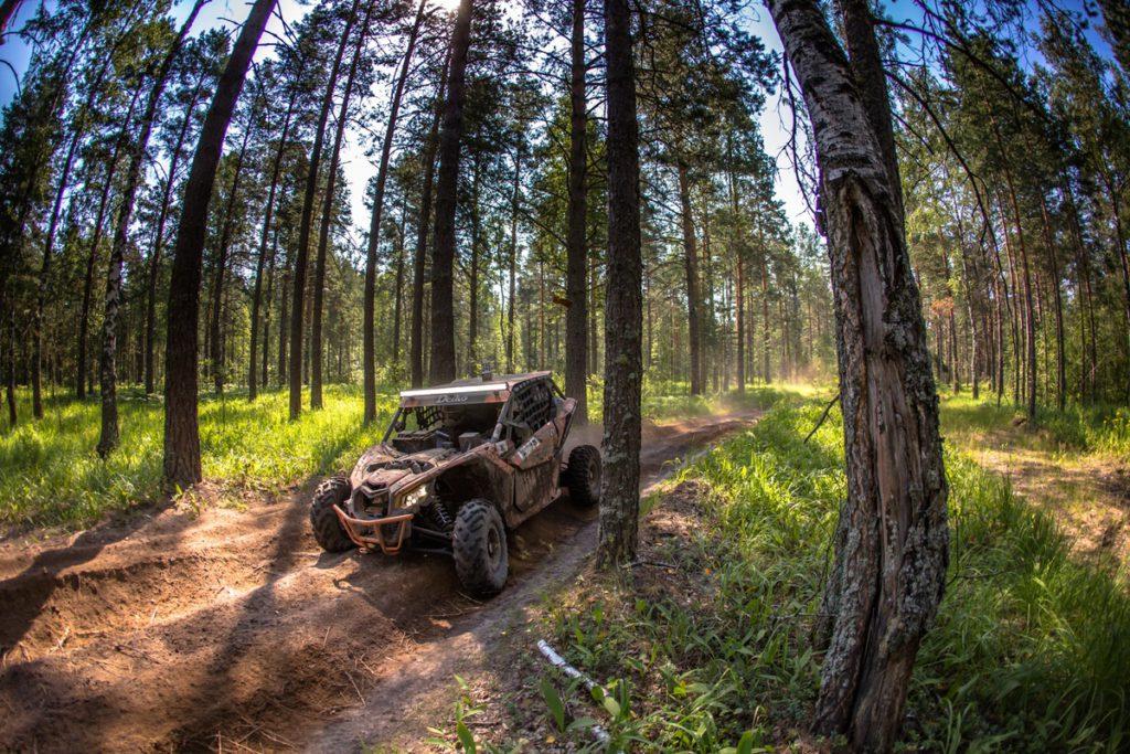 Adventure: на поиски приключений с Can-Am X Race