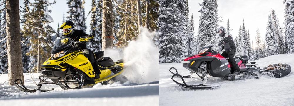 Ski-Doo продолжает инновационное развитие
