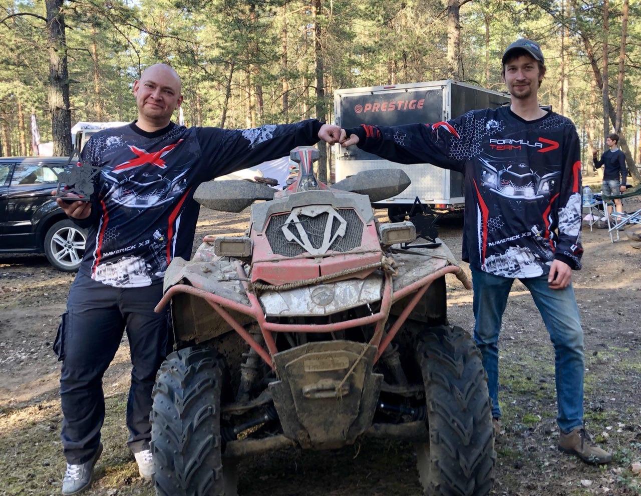 Команда «Can-Am Team» участвует в трофи-рейде Ладога-2018