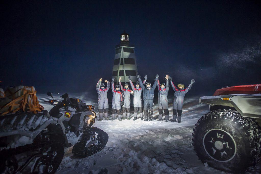 Новый рекорд России: Покорение Заполярья на квадроцикле Outlander 6x6.