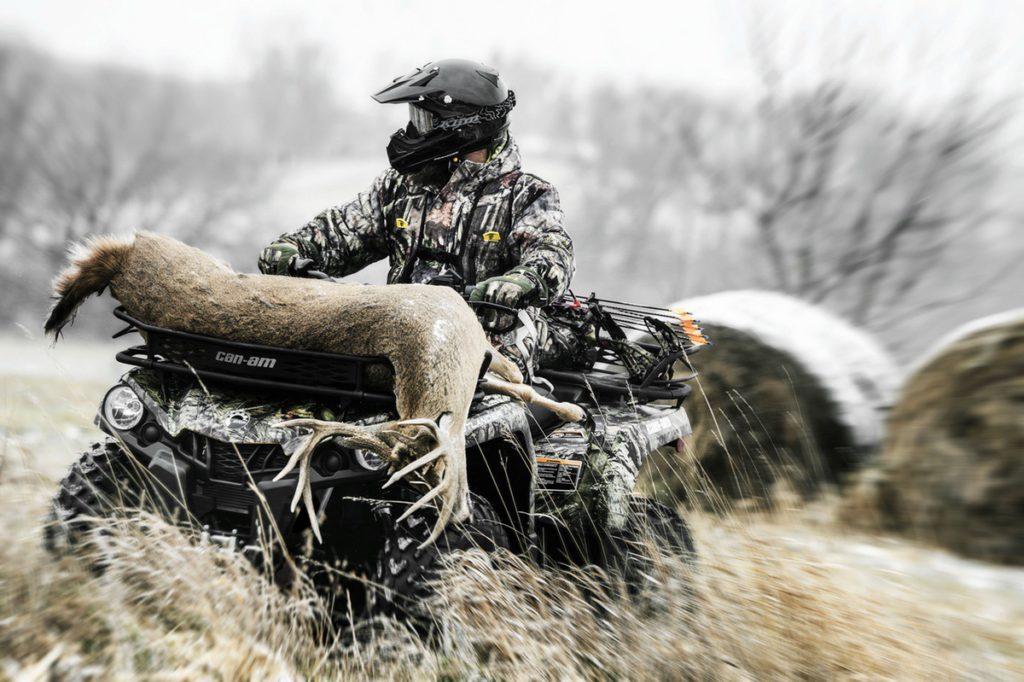 Обзор: квадроциклы для охоты и рыбалки