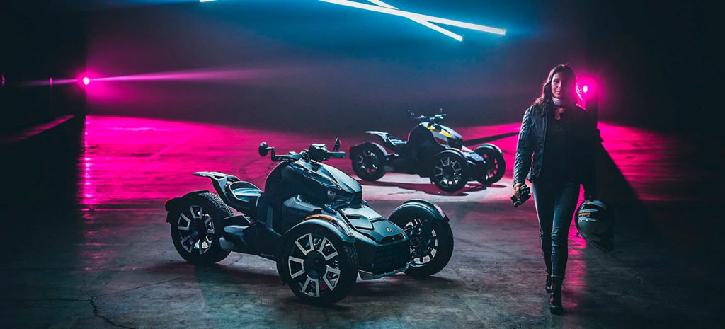 Новинки Can-Am 2019 года: новый родстер Can-Am Ryker.