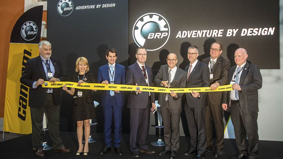 Торжественное открытие офиса BRP в Санкт-Петербурге