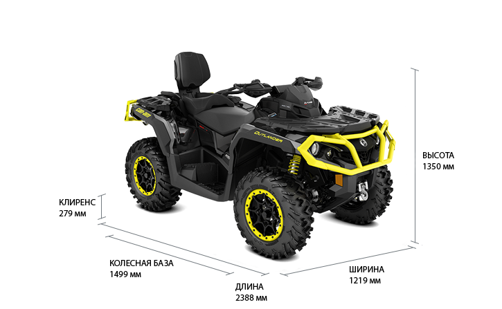 Can-Am Outlander MAX 1000R XT-P (2019 м.г.)