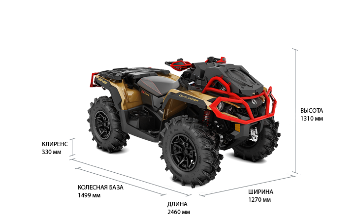 Can-Am Outlander 1000R X MR (2019 м.г.)