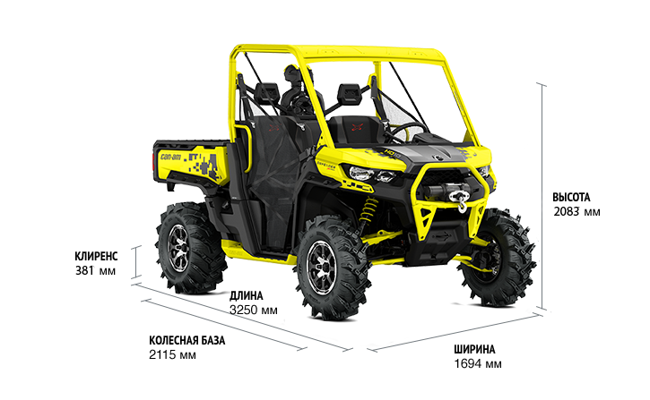 Can-Am Traxter HD10 X MR (2019 м.г.)