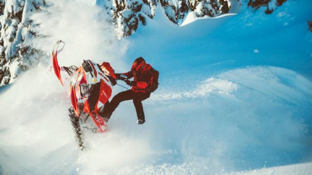 Мировая презентация снегоходов Ski-Doo 2020 модельного года.
