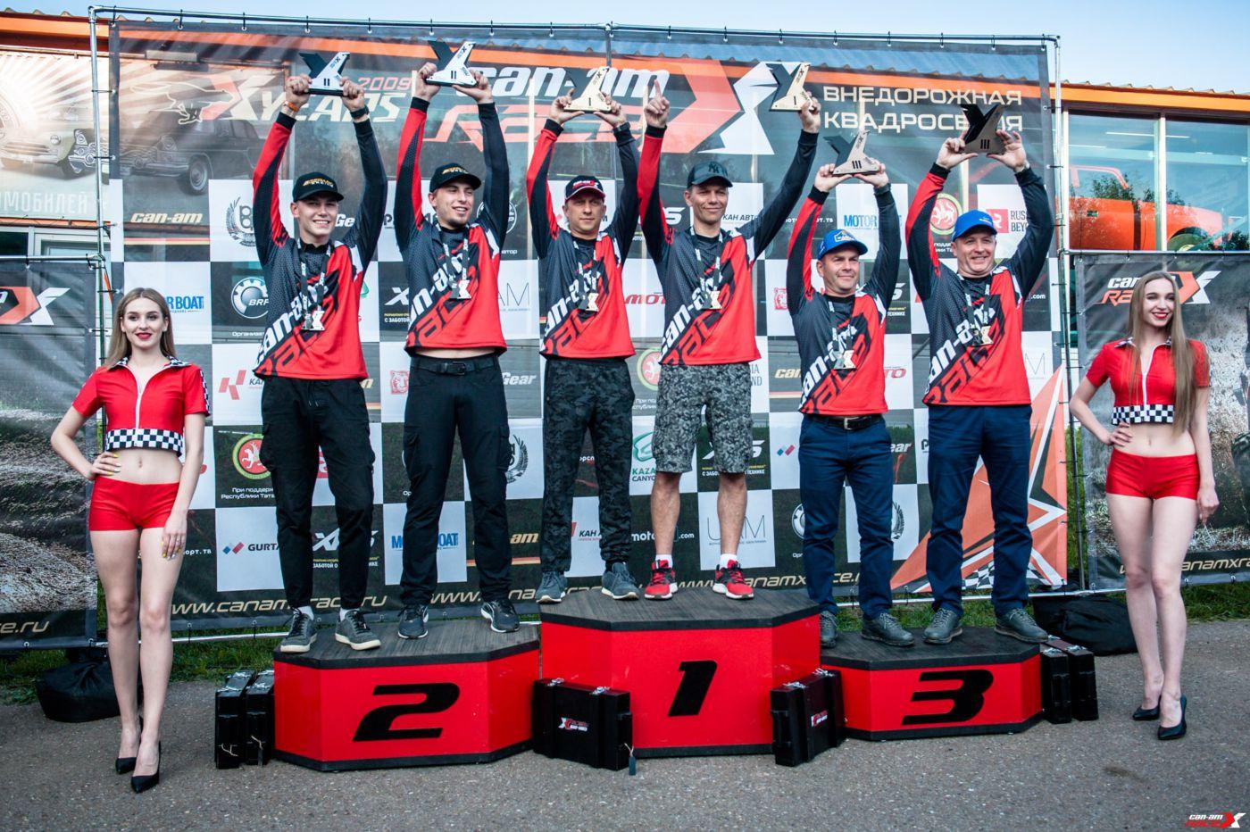 FORMULA7 TEAM занимает призовые места на 1 этапе Can-Am X Race