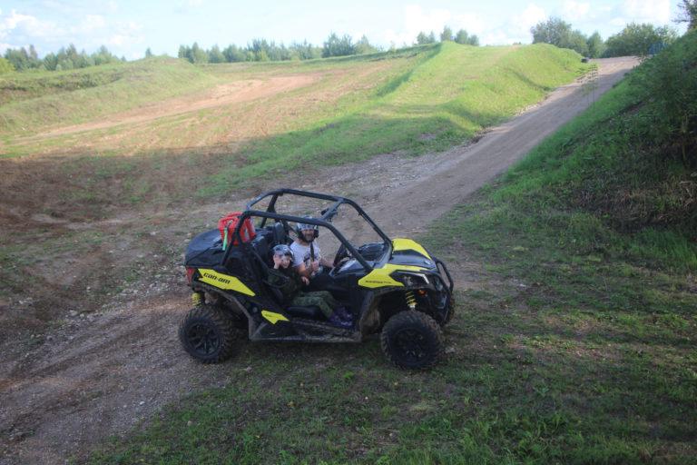 17 августа. Тест-драйв квадроцикла Maverick Trail 800