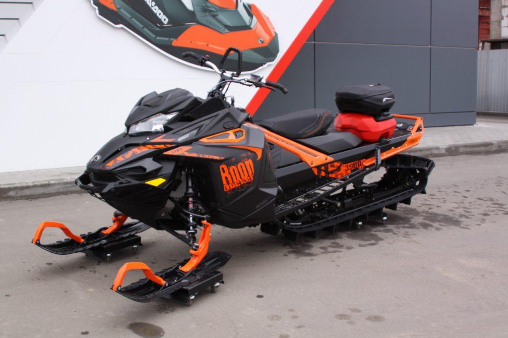 Новинки снегоходов Ski-Doo и Lynx
