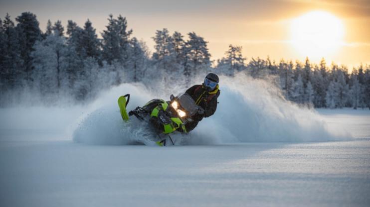 Новое поколение снегоходов Lynx