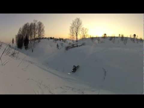Снегоходное сафари в Кировской области, гор.Совестск!