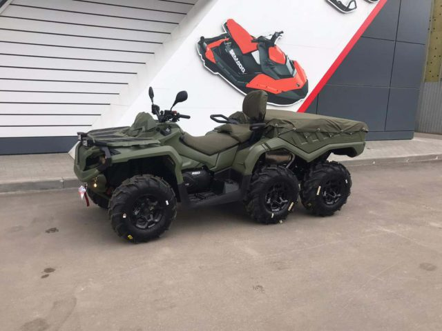 Тюнинг квадроцикла Can-Am Outlander 6x6