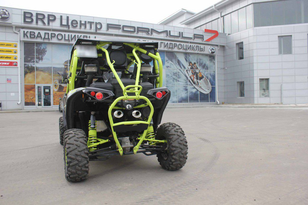 Тюнинг Can-Am MAVERICK MAX 1000 X DS DPS TURBO CARBON