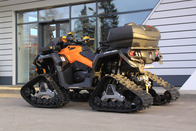Тюнинг квадроцикла CAN-AM OUTLANDER MAX 1000  XT P