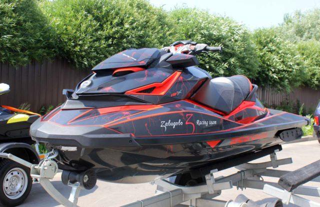 Тюнинг гидроцикла Sea-doo RXP 300