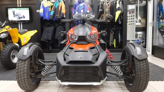 ТРИЦИКЛ CAN-AM RYKER RALLY EDITION С ПРОБЕГОМ