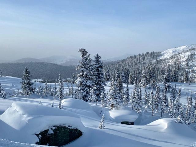 Bombardier club приглашает всех снегоходчиков на горной технике, покататься в Ергаках!