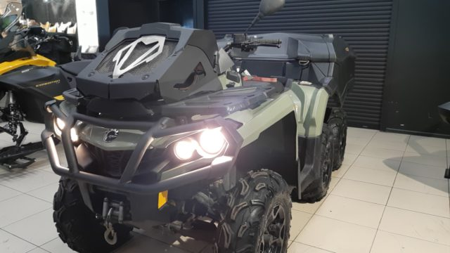 КВАДРОЦИКЛ Can-Am OUTLANDER 6x6 V-650 EFI с пробегом 4800 км