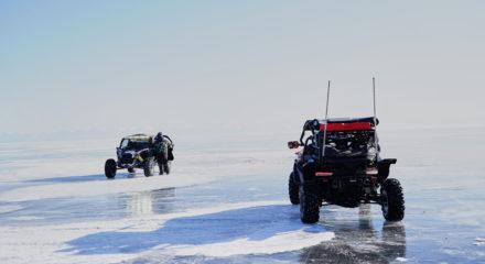 Отчет о путешествии по Байкалу на мотовездеходах