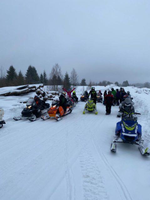 Отчет по мероприятию «Выезд в Торопецкий район на снегоходах»