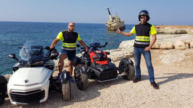 Анонс клубной поездки на Spyder/Ryker по Кипру 3-7 ноября 2021г